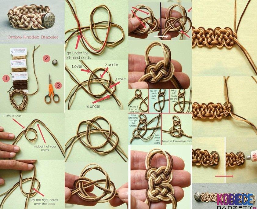 Как сделать браслеты своими руками шамбала